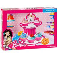 Barbie - Color model - Cake set - Modelling Clay