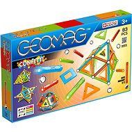 Geomag Confetti 83 - Magnetic Building Set