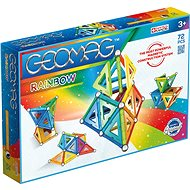 Geomag Rainbow 72 - Magnetic Building Set