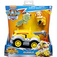 Paw Patrol Super Vehicles with light effect Rubble - Game Set