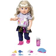 Older sister BABY born Soft Touch, blonde, 43 cm - online packaging - Doll