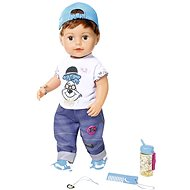 Older brother BABY born Soft Touch, 43 cm - online packaging - Doll