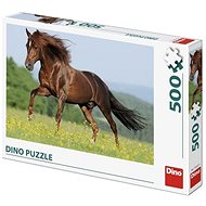 Horse In The Meadow 500 Puzzle - Puzzle