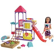 Barbie Skipper Babysitters Climb 'n Explore Playground Playset - Doll