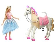 Barbie princess adventure princess and horse with lights and sounds - Doll