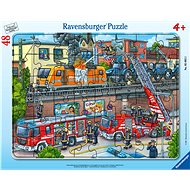 Ravensburger 050932 Call the Fire Brigade 48 Pieces - Puzzle