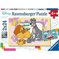 Ravensburger 050871 Disney Cartoons 2x24 Pieces