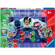 Ravensburger 078240 PJ Masks 2x24 Pieces