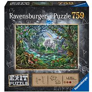 Ravensburger 150304 Exit Puzzle: Unicorn 759 Pieces - Puzzle
