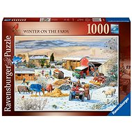 Ravensburger 164783 Winter on a farm of 1000 pieces - Puzzle