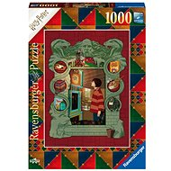 Ravensburger 165162 Harry Potter at Home with The Weasley Family 1000 Pieces - Puzzle
