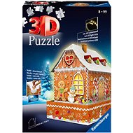 Ravensburger 3D 112371 Gingerbread House (Night edition) 216 pieces - Puzzle
