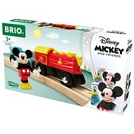 Brio World 32265 Mickey Mouse Battery Powered Train - Train Set