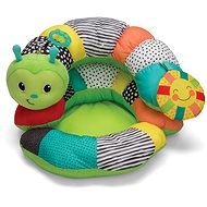 Pillow 2in1 for playing on the belly Caterpillar - Toddler Toy
