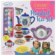Tea Set Animals  Colouring - Painting for Children