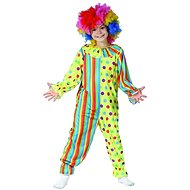 Carnival dress - clown, 110 - 120 cm - Children's Costume