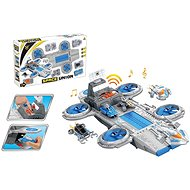 Space Station with Battery Reconnaissance Modules - Plastic Model