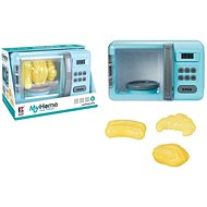 Microwave oven with batteries - Toy