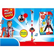 Battery-powered microphone, with accessories (MP3, iPad, player) - Musical Toy