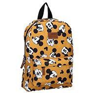 Backpack Mickey Mouse My Own Way Yellow - School Backpack