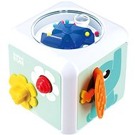 Sensorimotor cube toy - Toddler Toy