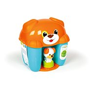 Clementoni Clemmy baby - bucket with cubes dog - Toddler Toy