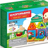 Magformers - Town Market - Magnetic Building Set