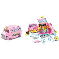 Wiky School bus for dolls - Toy Vehicle