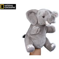National Geographic puppet Elephant 26 cm - Hand Puppet