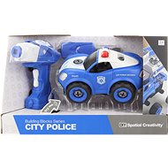 Screw-on police car with remote control - Toy Car