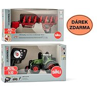 Siku Control - limited edition Fendt 939 tractor + double-sided plow 6783 1:32 - RC Remote Control Car