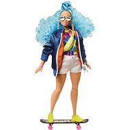 Barbie Extra - With a blue afro hairstyle - Dolls