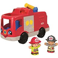 Fisher-Price Little People Fire Truck - Interactive Toy