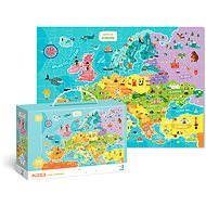 Puzzle Map of Europe -100 pieces - Puzzle