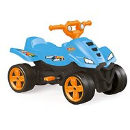 Hot Wheels Children's pedal quad bike blue - Pedal Quad