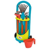 Ecoiffier Trolley with garden tools and teapot - Bike Trailer