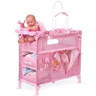 DeCuevas Toys Folding bed for dolls with 5 functional accessories Maria 2018 - Furniture for Dolls