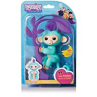 Fingerlings - Zoe Monkey, Turquoise