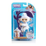 Fingerlings - Sugar Monkey, flashy white - Interactive Toy