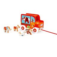 Scratch Truck with Animals Circus - Building Kit