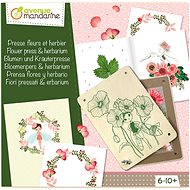 Avenue Mandarine Creative Set of Flower Pressing - Creative Kit