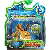 Dragons 3 Bioluminescent Mini Colour Changing Dragon Meatlug - Figures
