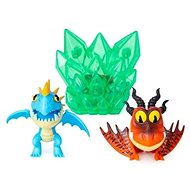 Dragons 3 Multi Gift Pack - Blue and Red Dragon - Figures