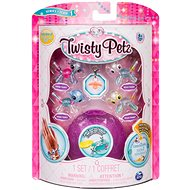 Twisty Petz 4-pack Puppies and Pandas - Children's Bracelet