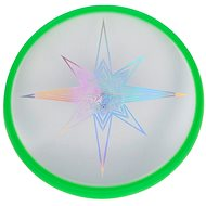 Aierobie Flying disc glowing skylighter green - Outdoor Game