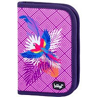 School pencil case classic parrot