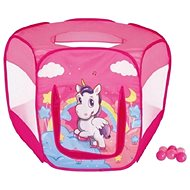 Tent with unicorn balls - Children's tent