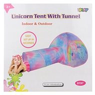 Tent unicorns with tunnel - Children's tent