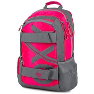 OXY Sport NEON LINE Pink backpack - School Backpack