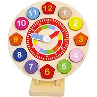 Wooden insertion clock - Educational Toy